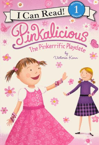 9780606237369: The Pinkerrific Playdate (Turtleback School & Library Binding Edition) (Pinkalicious)