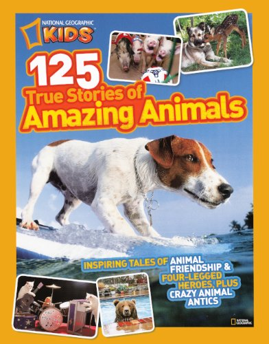 9780606238878: 125 True Stories Of Amazing Animals (Turtleback School & Library Binding Edition)