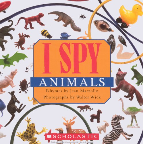 I Spy Animals (Turtleback Binding Edition) By Marzollo