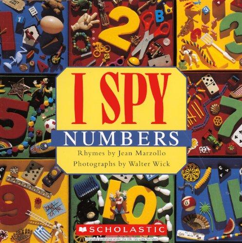 I Spy Numbers (Turtleback Binding Edition) By Jean