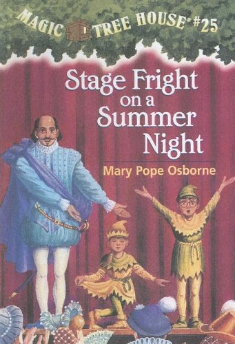 9780606240925: Stage Fright on a Summer Night (Magic Tree House)