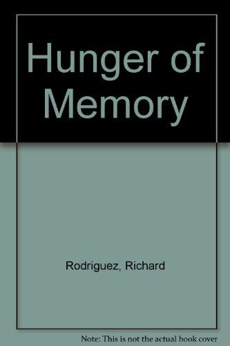 9780606241786: Hunger of Memory