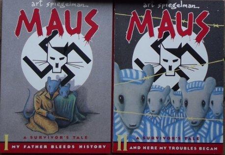 9780606241823: Maus: A Survivors's Tale/Here My Troubles Began: 2