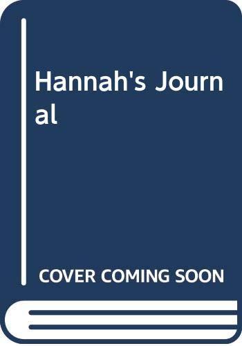 9780606244916: Hannah's Journal