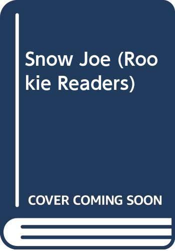 9780606248389: Snow Joe (Rookie Readers)
