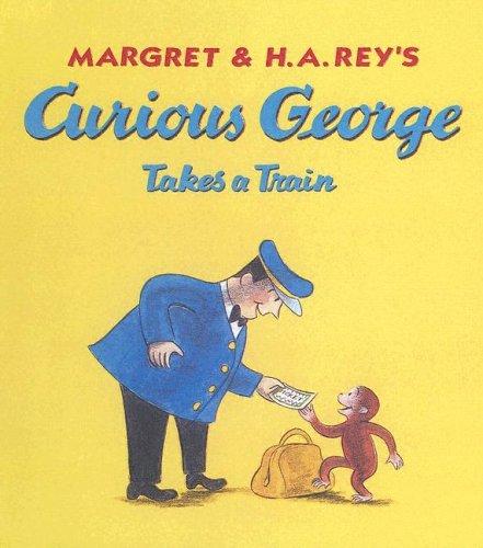9780606252355: Curious George Takes a Train