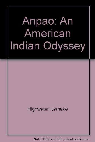 9780606252928: Anpao: An American Indian Odyssey
