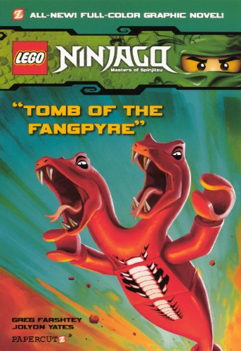 9780606261432: Ninjago: Masters of Spinjitzu 4: Tomb of the Fangpyre