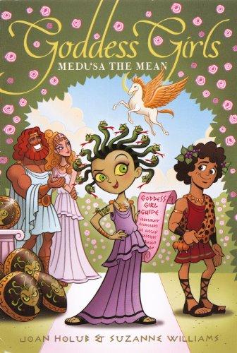 9780606263481: Medusa The Mean (Turtleback School & Library Binding Edition) (Goddess Girls (Pb))