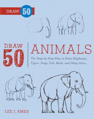 9780606264266: Draw 50 Animals (Turtleback School & Library Binding Edition) (Draw 50 (Prebound))