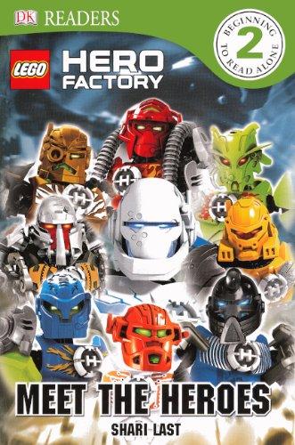 9780606264587: Meet The Heroes (Turtleback School & Library Binding Edition) (DK Readers: Level 2)