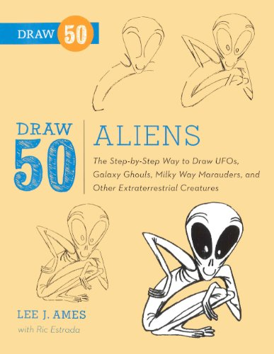 9780606265072: Draw 50 Aliens (Turtleback School & Library Binding Edition)