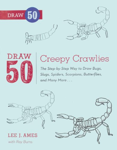 9780606265126: Draw 50 Creepy Crawlies (Turtleback School & Library Binding Edition) (Draw 50 (Prebound))