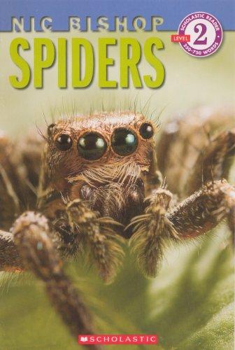 9780606267427: Spiders (Turtleback School & Library Binding Edition) (Scholastic Reader: Level 2)