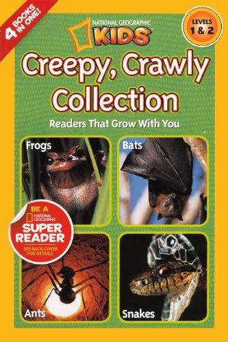 9780606268226: Creepy Crawly Collection (Turtleback School & Library Binding Edition) (National Geographic Kids: Levels 1 & 2 (PB))