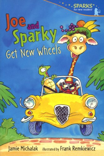 9780606269322: Joe And Sparky Get New Wheels (Turtleback School & Library Binding Edition) (Candlewick Sparks)