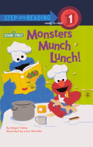 9780606269834: Monsters Munch Lunch! (Turtleback School & Library Binding Edition) (Step Into Reading - Level 1)