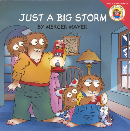 9780606271530: Just A Big Storm (Turtleback School & Library Binding Edition) (New Adventures of Mercer Mayer's Little Critter)