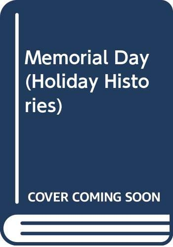 9780606272155: Memorial Day (Holiday Histories)