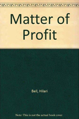 9780606278041: Matter of Profit