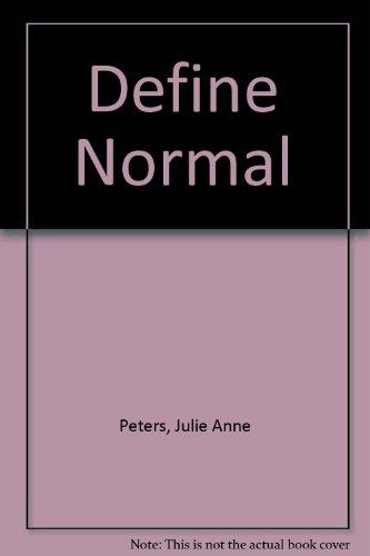 """9780606278201: Define """"Normal"""""""