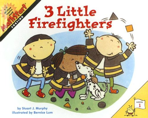 9780606292009: 3 Little Firefighters