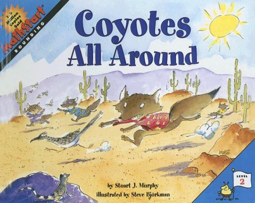 9780606292016: Coyotes All Around (Mathstart:Rounding:Level 2)