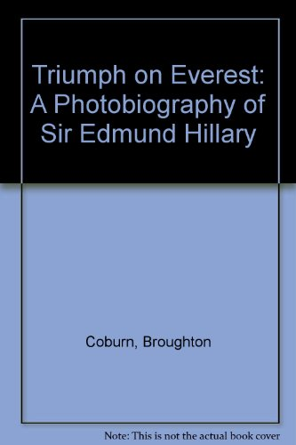 9780606292412: Triumph on Everest: A Photobiography of Sir Edmund Hillary