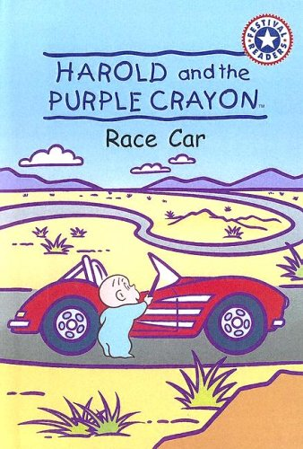 9780606299183: Harold And The Purple Crayon: Race Car (Festival Readers)