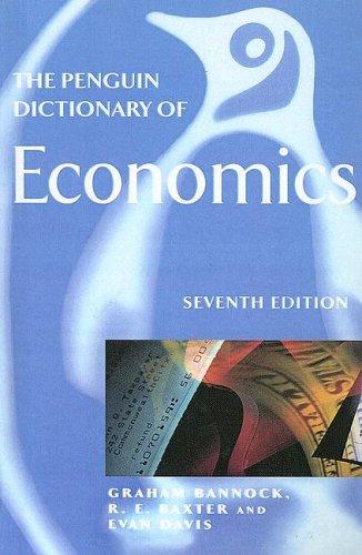9780606302579: The Penguin Dictionary of Economics
