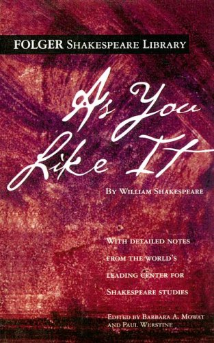 9780606312820: As You Like It (Folger Shakespeare Library)