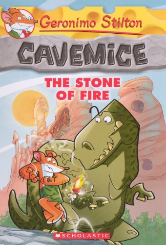 9780606315265: The Stone Of Fire (Turtleback School & Library Binding Edition) (Geronimo Stilton: Cavemice)