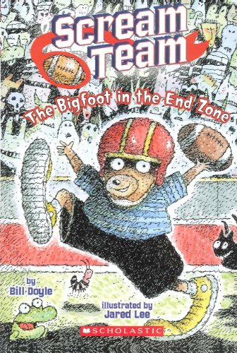 9780606315609: The Big Foot In The End Zone (Turtleback School & Library Binding Edition) (Scream Team)