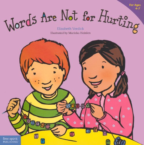 9780606316613: Words Are Not for Hurting