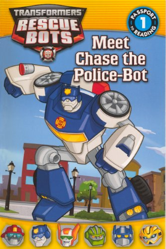 9780606317368: Meet Chase The Police-Bot (Turtleback School & Library Binding Edition) (Transformers: Rescue Bots)