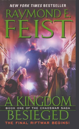 9780606318310: A Kingdom Besieged (Turtleback School & Library Binding Edition) (Chaoswar Saga)