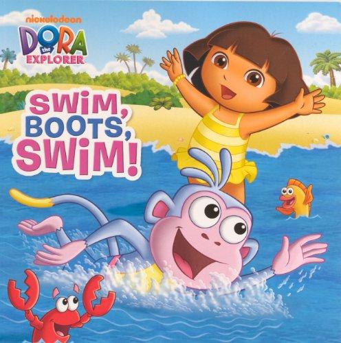 9780606319331: Swim, Boots, Swim! (Turtleback School & Library Binding Edition) (Dora the Explorer)