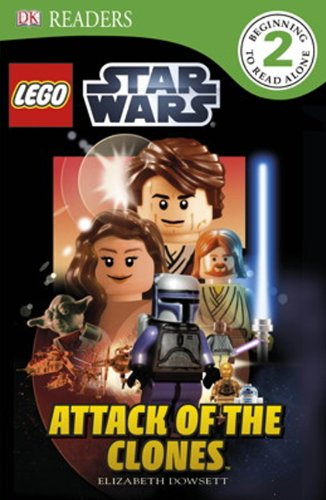 9780606321112: Attack Of The Clones (Turtleback School & Library Binding Edition) (Dk Readers Beginning to Read Alone 2: Lego Star Wars)