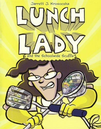 Lunch Lady And The Schoolwide Scuffle (Turtleback School & Library Binding Edition): Krosoczka,...