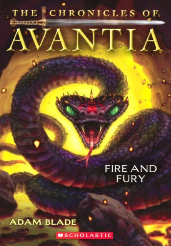 9780606323529: Fire And Fury (Turtleback School & Library Binding Edition) (Chronicles of Avantia (Hardcover))
