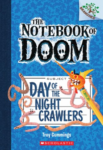9780606323680: Day Of The Night Crawlers (Turtleback School & Library Binding Edition) (The Notebook of Doom)