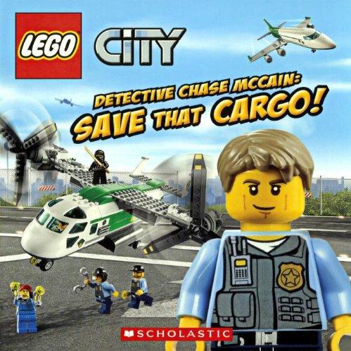 9780606323932: Detective Chase McCain: Save That Cargo! (Turtleback School & Library Binding Edition) (Lego City (PB))