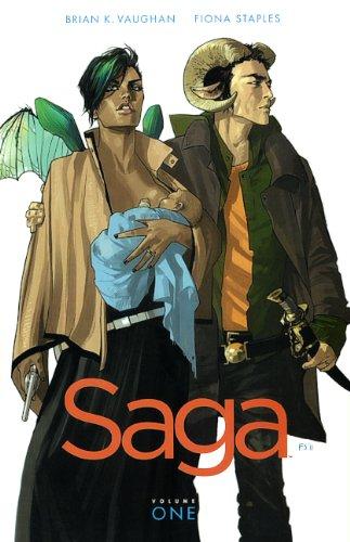 9780606324328: Saga, Vol. 1 (Turtleback School & Library Binding Edition)