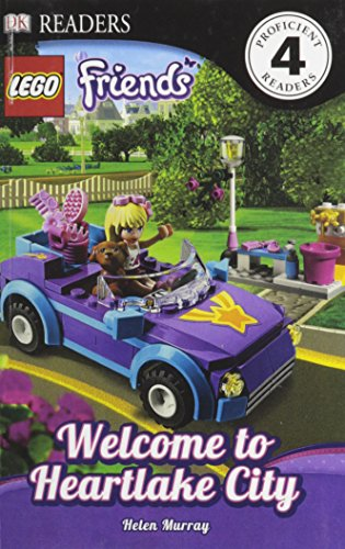 9780606324588: Lego Friends: Welcome To Heartlake City (Turtleback School & Library Binding Edition) (DK Readers: Level 4)