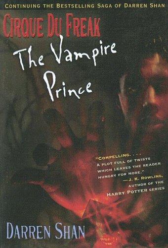 9780606328319: Vampire Prince (Cirque Du Freak, the Saga of Darren Shan)