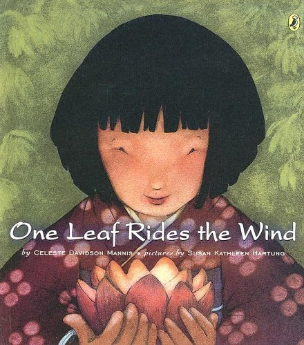 9780606331135: One Leaf Rides The Wind: Counting In A Japanese Garden