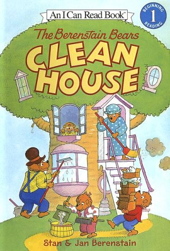 9780606333221: The Berenstain Bears Clean House (I Can Read! Level 1: the Berenstain Bears)