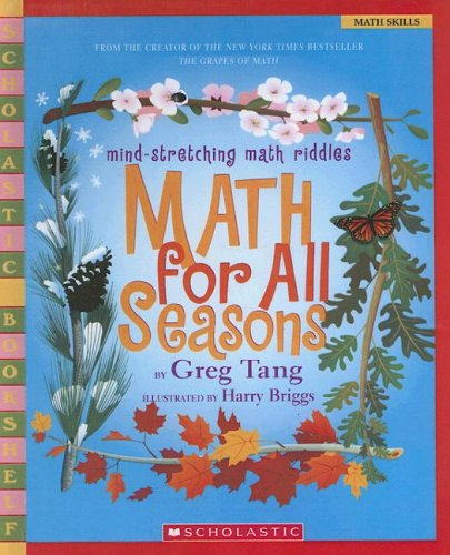 9780606338196: Math for All Seasons: Mind-stretching Math Riddles (Scholastic Bookshelf)