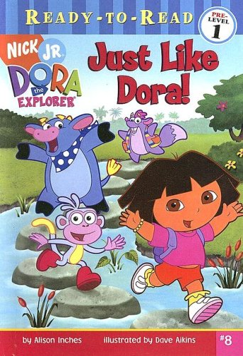 9780606339209: Just Like Dora! (Dora the Explorer Ready-to-read)