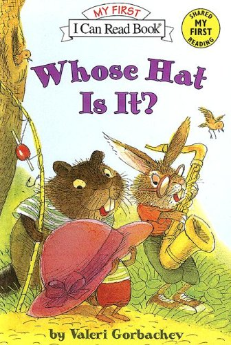 9780606339339: Whose Hat Is It? (My First I Can Read Books)